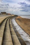 Promenade Photos - North Beach Heacham Norfolk by John Edwards