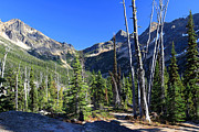 North Cascades Prints - North Cascades Landscape Print by Pierre Leclerc