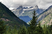 Cascades Prints - North Cascades National Park Print by Pierre Leclerc