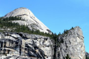 North Dome Posters - North Dome at Yosemite . 7D6255 Poster by Wingsdomain Art and Photography