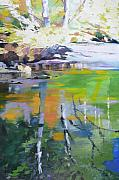 Northwest Landscape Mixed Media - North Fork Silver Creek by Melody Cleary