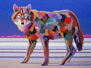 Abstract Wildlife Paintings - North From Here by Bob Coonts