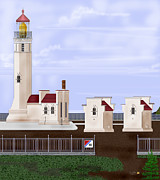 Anne Norskog - North Head Lighthouse...