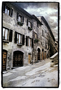 Digital Art Pyrography Prints - North Italy  Print by Mauro Celotti