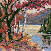 Click Galleries Paintings - North Lake by Prankearts by Richard T Pranke