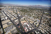 City Streets Photo Originals - North Las Vegas View by Jessica Velasco