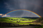 North Poorton Rainbow Print by Kris Dutson