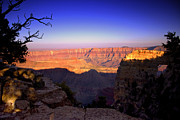 Grand Canyon Digital Art - North Rim Sunset by Ellen Lacey
