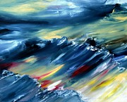 World No. 1 Paintings - North-Sea by Andreas Wemmje