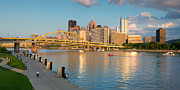 Pittsburgh Framed Prints - North shore  Framed Print by Emmanuel Panagiotakis