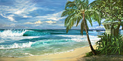Oahu Paintings - North Shore by Lisa Reinhardt