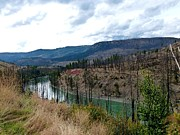 North Thompson Photos - North Thompson River 2 by Will Borden