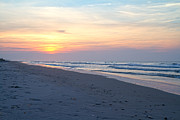 Topsail Island Photos - North Topsail Beach Serenity  by East Coast Barrier Islands Betsy A Cutler