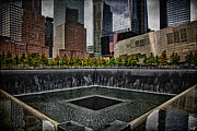 Wtc Center Digital Art Metal Prints - North Tower Memorial Metal Print by Chris Lord