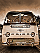 Sepia Metal Prints - North Wales Nostalgia Metal Print by Meirion Matthias