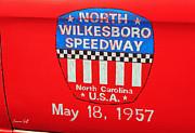 North Wilkesboro Speedway Print by Suzanne Gaff