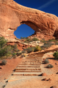 Lanscape Originals - North Window in Arches National park by Pierre Leclerc