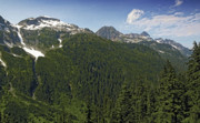 North Cascades Prints - Northern Cascade Mountain Range Washington State Print by Brendan Reals