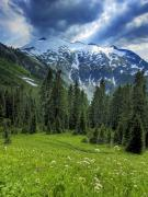 Cascade Mountains Prints - Northern Cascades in Washington State    Mount Ruth Print by Brendan Reals