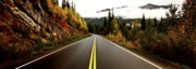 Scenic Drive Prints - Northern Highway Yukon Print by Mark Duffy