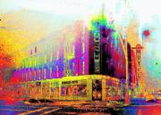 Ft. Collins Digital Art Prints - Northern Hotel Print by Jeff Gibford