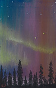 Amazing Pastels Prints - Northern Lights before Sunrise Print by Jackie Novak