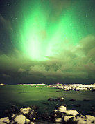 Awe Prints - Northern Lights Over Vigra Print by Severin Sadjina - sesaphoto.com