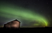 Universe Art - Northern Lights Saskatchewan Canada by Mark Duffy
