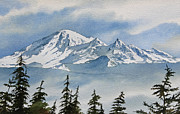 Mountain Range Paintings - Northwest Mountain by James Williamson