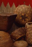 Baskets Photos - Northwest Native American Tribe by Lynn Johnson