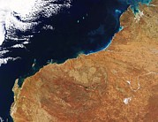 Northwestern Indian Prints - Northwestern Australia, Satellite Image Print by Nasa