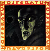 Horror Movies Framed Prints - Nosferatu, Max Schreck, 1922 Framed Print by Everett