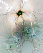 Abstract Flowers Digital Art - Nostalgia by Amanda Moore