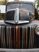 American Trucks Framed Prints - Nostalgic Rusty Old Ford Truck . 7D10281 Framed Print by Wingsdomain Art and Photography