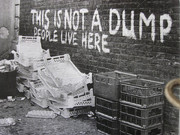 Downtown Digital Art Originals - Not a Dump -thee signs of thre times collection by Sign Of The Times Collection