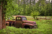 Rusty Pickup Truck Photos - Not Forgotten by Debra and Dave Vanderlaan