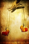 Hearts Digital Art - Not meant to be... by Photodream Art