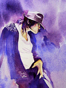 Billie Jean Paintings - Not my lover by Hitomi Osanai