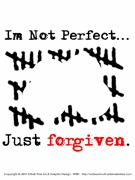 Forgiven Digital Art Prints - Not Perfect Print by Edward Ruth