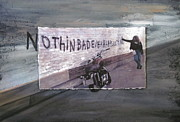 Photo Mixed Media Originals - Nothin Bad Ever Happens To Me by Anita Burgermeister