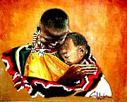 Maasai Painting Originals - Nothin Else Matters by G Cuffia