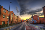 Sunset Framed Prints Framed Prints - Nottingham Road Framed Print by Yhun Suarez