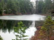 Nova Scotia Photos - Nova Scotia Lake by Deborah MacQuarrie