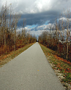 Orchard Trail Prints - November on Macomb Orchard Trail Print by LeeAnn McLaneGoetz McLaneGoetzStudioLLCcom