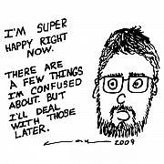 Now Comic Print by Karl Addison