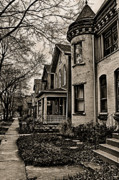 Old Homes Photos - Now has Past by Chuck Alaimo
