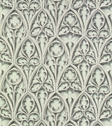 Floral Tapestries - Textiles Metal Prints - Nowton Court Metal Print by Augustus Welby Pugin
