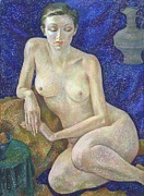 Nude Models Prints - Nu 27 Print by Leonid Petrushin
