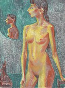 Academic Nudes Prints - Nu 7 Print by Leonid Petrushin