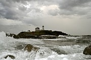 Richard Frost - Nubble Lighthouse in the...